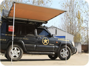 VEHICLE AWNING TARP